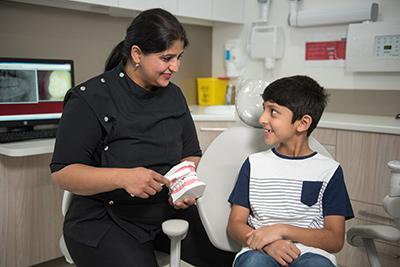 Children's Dentist in Rouse Hill Smiles Dental Care