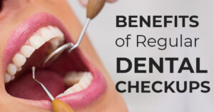 Regular dental cleanings and check-ups